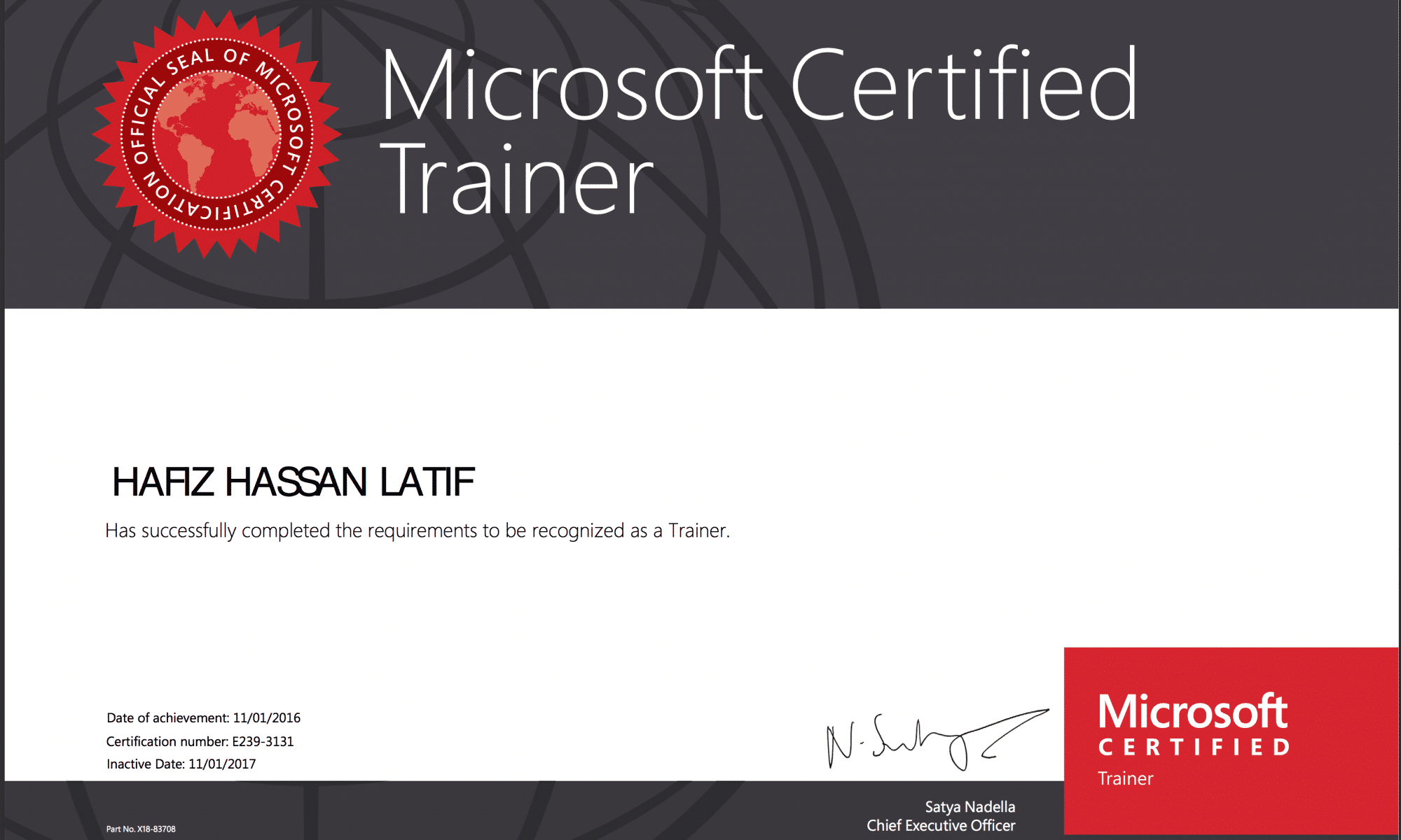 Welcome to microsoft certification access your benefits in four hassan latif 1betcityfo Choice Image